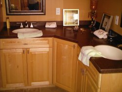 Bathroom Countertops Toronto Mississauga Gta Solid Surfaces